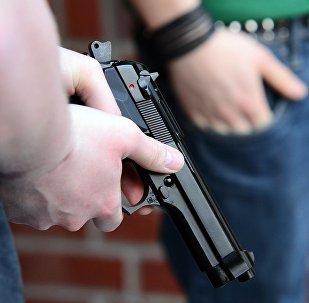 Пистолет, архивное фото
