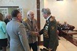 Прыём з нагоды Дня Перамогі ў пасольстве РФ у РБ