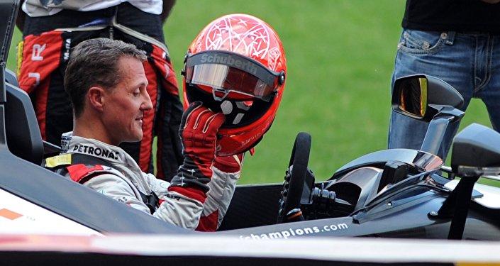 Пилот Формулы-1 Михаэль Шумахер
