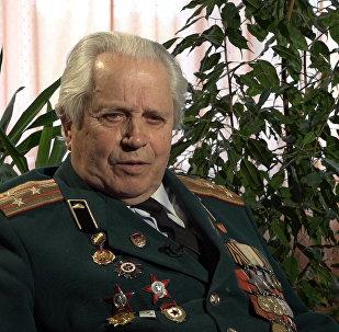 Ветеран Великой Отечественной войны Бронислав Карпенко