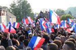 Последние перед вторым туром выборов митинги Макрона и Ле Пен прошли во Франции