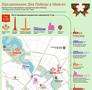 День Победы в Минске-2017 – инфографика Sputnik