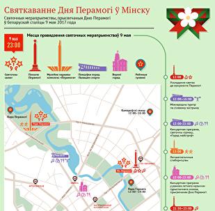 Дзень Перамогі ў Мінску-2017 – інфаграфіка Sputnik