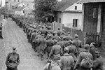 Колонна немецких военнопленных