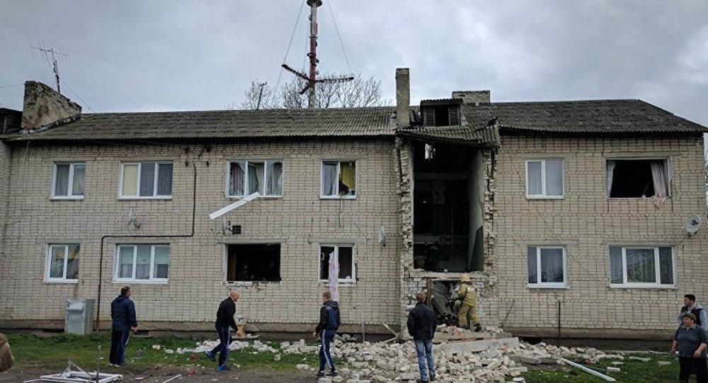 Трое детей втяжёлом состоянии после взрыва газа под Калининградом