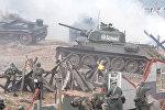 Реконструкция битвы за Берлин на Линии Сталина