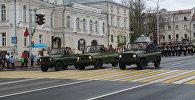 Ветераны проехали по центральной улице Витебска на автомобилях