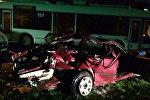Авария на улице Солтыса в Минске