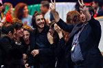 Фаворит прошедшего первого полуфинала Евровидения - португалец Сальвадор Собрал