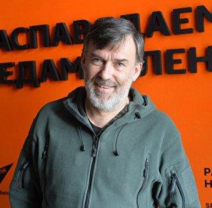 Тэлевізійны прадзюсар Уладзімір Максімкаў