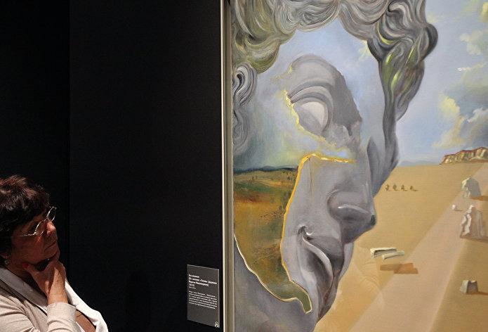 Выстава работ Сальвадора Далі у Маскве