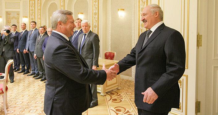 Президент Лукашенко призвал РФ недавить Беларусь насвоем рынке