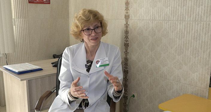 Врач-аллерголог медицинского центра ЛОДЭ Оксана Еленская