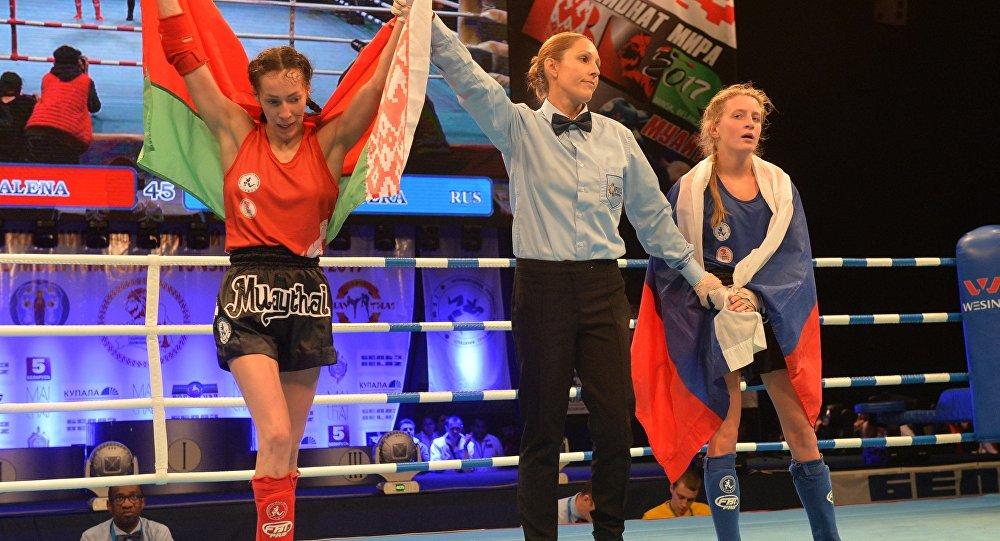 Чемпионат мира по муай-тай в Минске