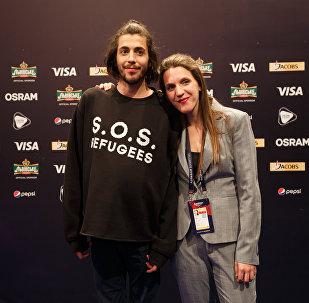 Сальвадор и Луиса  Собрал