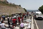 Автобус с туристами попал в ДТП в Турции, погибли около 20 человек