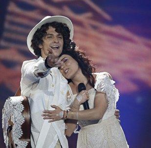 NaviBand на сцене Евровидения