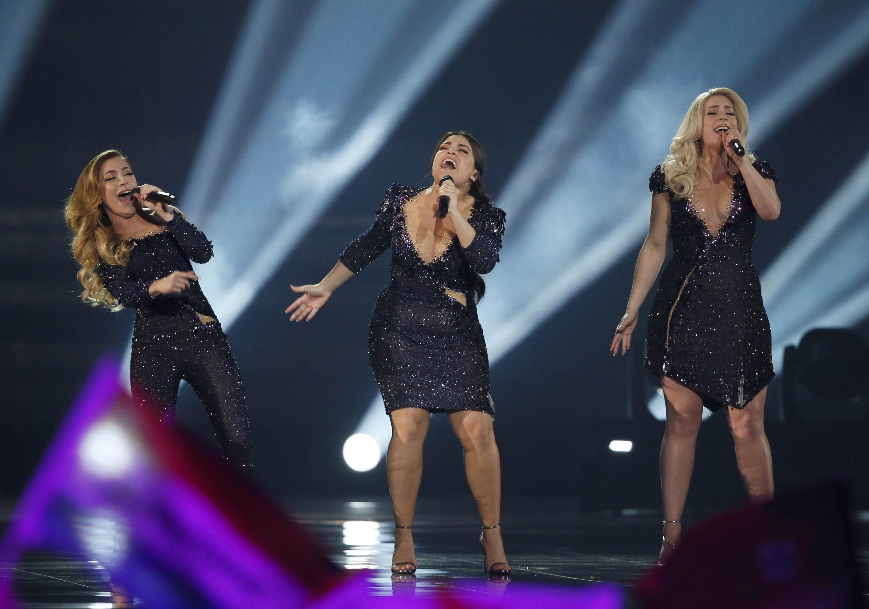 OG3NE из Нидерландов в финале Евровидения