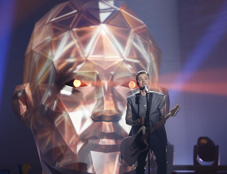 Украинская группа O.Torvald в финале Евровидения