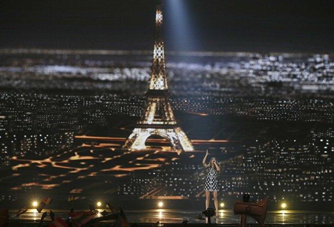 Француженка Алма в финале Евровидения