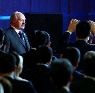 Беларускі прэзідэнт Аляксандр Лукашэнка ў Пекіне
