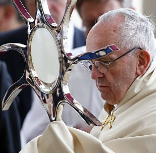 Папа Римский в Фатиме