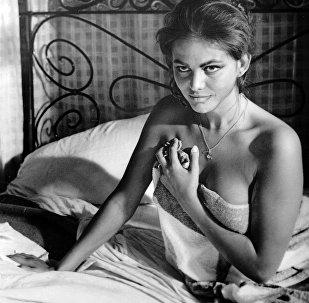 Итальянская актриса Клаудиа Кардинале