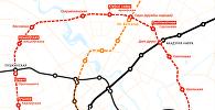 Абмеркаванне назваў праектуемых станцый для 4-й лініі мінскага метро