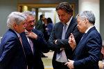 В кулуарах встречи министров иностранных дел ЕС в Брюсселе