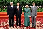 Официальное фото президента Беларуси в Китай
