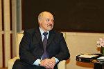 Президент Беларуси Александр Лукашенко во время встречи, 15 мая 2017 года
