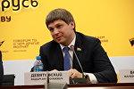 Глава Белорусской федерации лёгкой атлетики и депутат Палаты представителей Вадим Девятовский