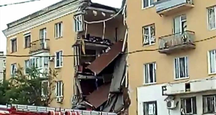 Взрыв вжилом доме вВолгограде: введен режимЧС