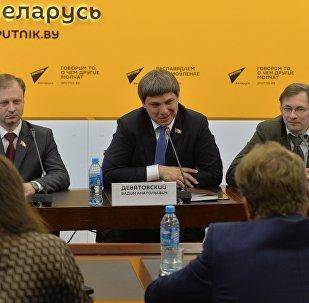 Встреча депутатов Палаты представителей с журналистами
