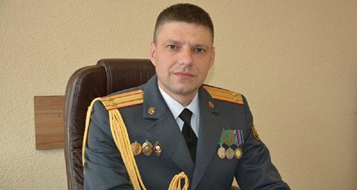 Начальник УБЭП Могилевской области, подполковник милиции Дмитрий Щедраков