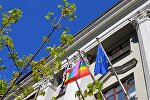 Посольство Великобритании в Минске вывесило радужный флаг