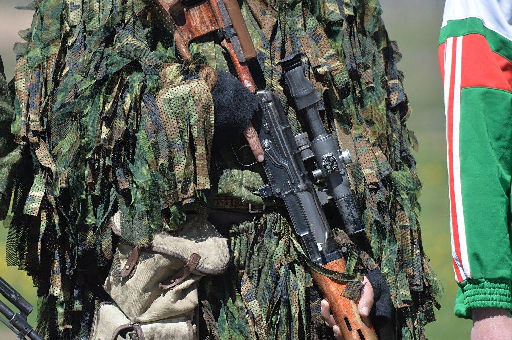 Войсковый костюм для снайперов Леший