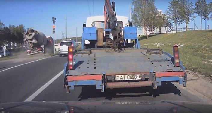 Авария в Гродно