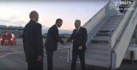 Відэафакт: прэзідэнт Сербіі прыбыў у Мінск звычайным рэйсам Lufthansa