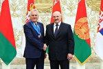 Президент Сербии Томислав Николич и президент Беларуси Александр Лукашенко