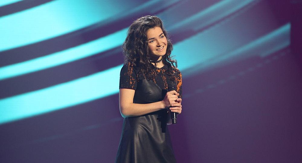 Белорусская участница шоу Ты супер! Дарья Чернова