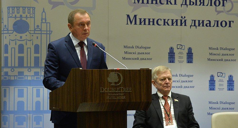 Министр иностранных дел Владимир Макей