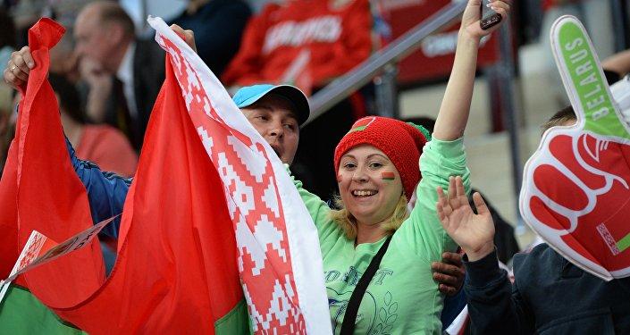 Болельщики сборной Беларуси, архивное фото