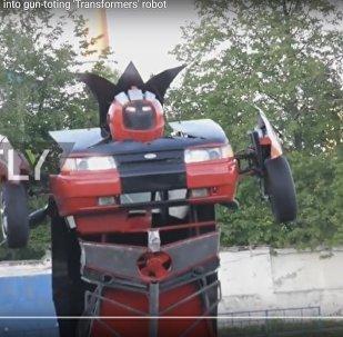 Lada-трансформер: каскадер из Орла построил необычную машину
