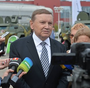Председатель Государственного военно-промышленного комитета Беларуси Сергей Гурулев