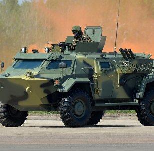 Мобильное бронированное транспортное средство Кайман белорусского производства впервые представлено на MILEX - 2017