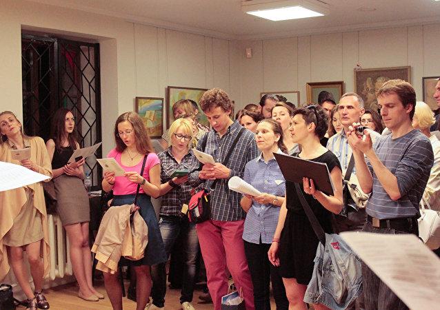 Ноч музеяў у Дзяржаўным музеі гісторыі беларускай літаратуры