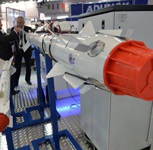 Ракетное вооружение на выставке MILEX - 2017 в Минске