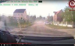 ГАИ опубликовала видео погони за мотоциклистом в Бресте