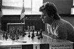 Виктор Купрейчик на шахматном турнире VII летней Спартакиады народов СССР